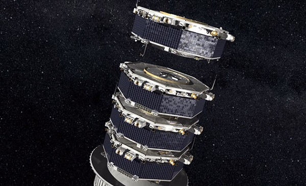 stacked satellites space laucnh