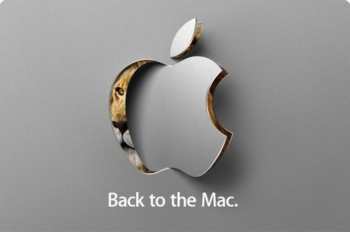 Back to mac event might bring new macbook air, new osx and multitouch to mac