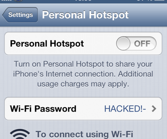 Iphone Wifi Tethering Password Easily Cracked In Under A Minute